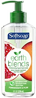 softsoap earth blends hand soap
