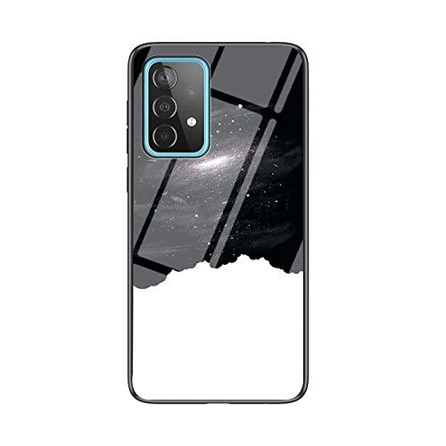 NEINEI Hülle für Asus Zenfone 8 Flip,Clear Superdünne Mode Sternenklarer Himmel Muster Design Handyhülle, PC/TPU Silikon Bumper Stoßfeste Kratzfeste Schutzhülle Hülle Cover-1