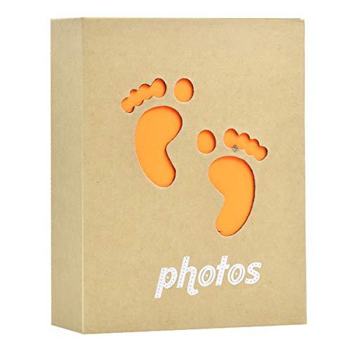 Fotoalbum Klein 50 Seiten, Fotoalben 6 X 4 für Baby, Einsteckalbum 100 Fotos für Kinder, Geburtstag Geschenke, Travel