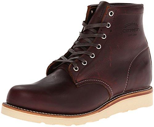 Original Chippewa Collection Men's 1901M16 6 Inch Plain Toe Boot, Cordovan, 9.5 D US