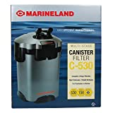MarineLand Multi-Stage C-530 Canister Filter for Aquariums, Easy Maintenance