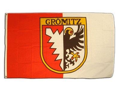Flagge Deutschland Stadt Grömitz - 90 x 150 cm