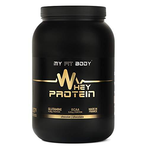 My Fit Body - Whey Protein Elite - Integratore Sportivo - Migliora i Risultati - Ideale per Aumentare la Massa Muscolare - Proteina di Siero di Latte - Gusto Cioccolato - 907 gr