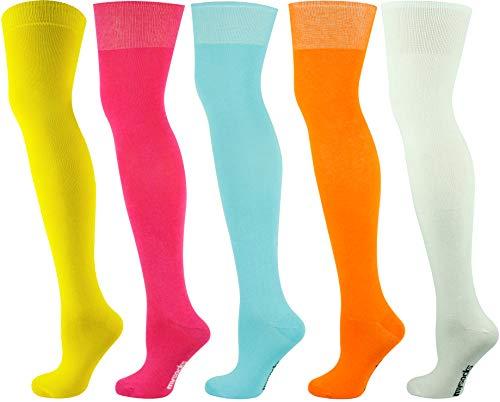 6 Damas Agarre Suave Calcetines No Elástico Mezcla De Bambú ® UK 4-8