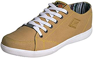 Campus Mission Beige Men Sneakers