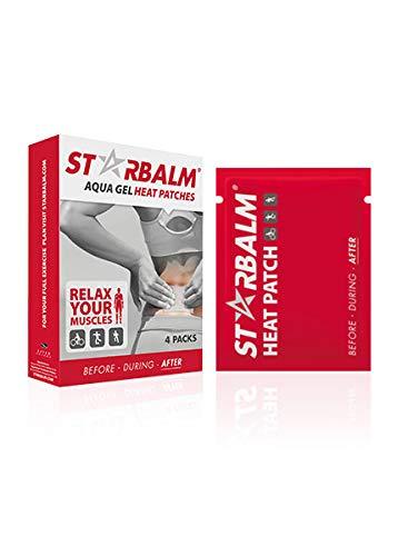STARBALM Aqua gel warmte pleisters. De ideale oplossing bij spierpijn, oververmoeide spieren en rugklachten.