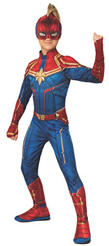 Rubie's 700594 - Offizieller Captain Marvel - Hero Anzug, Kinderkostüm