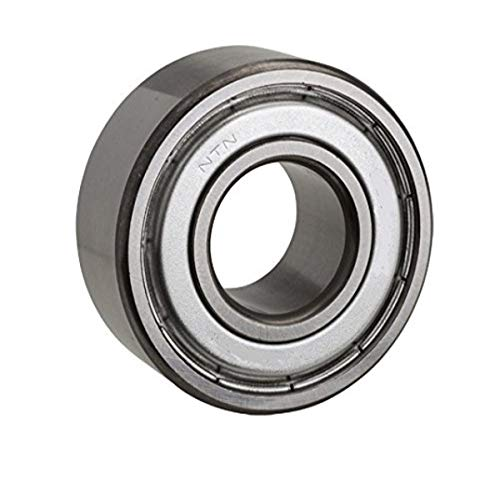 NTN Bearing TMB222Z Single Row Thermal Mechanical Radial Ball Bearing, Normal Clearance, Steel Cage, 110 mm Bore, 200 mm OD, 38 mm Width, Single Shield