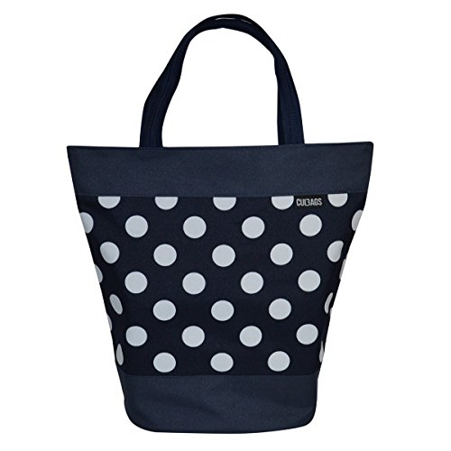 C-BAGS Shopper Polka DOTS Gepäckträger Fahrradtasche Tasche Verschiedene Muster (141.001)