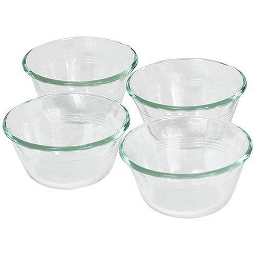 Pyrex 6-Ounce Custard Cups, Set of 4 by Pyrex