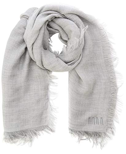 BOSS Damen NALU1 Schal, Silber (Silver 040), One Size (Herstellergröße: STCK)