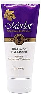 Merlot Skin Care Moisturizing Hand Cream for Dry, Rough Hands | Fragrance-Free | NON-GREASY |Intensive Hand Cream, 6 Ounces