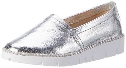 Bronx Damen BX 1246 BstitchX Slipper, Silber (Silver), 36 EU