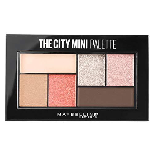 Maybelline The City Mini Paleta de Sombras Tono 430 Downtown Sunrise, Coral - 6 gr