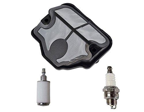 OxoxO Reemplazo de filtro de combustible de aire bujía para Husqvarna 36 41 136 141 137 142 motosierra de alta calidad cortacésped de repuesto kits de tune up