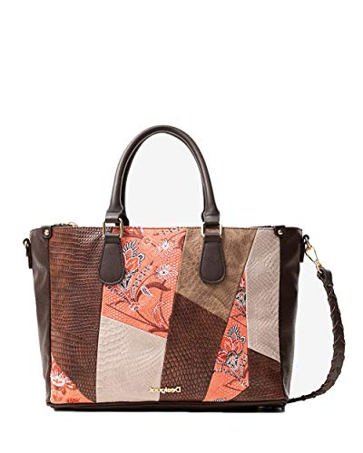 Desigual Damen Handtasche JAPAN PATH SAFI dunkelrot One Size