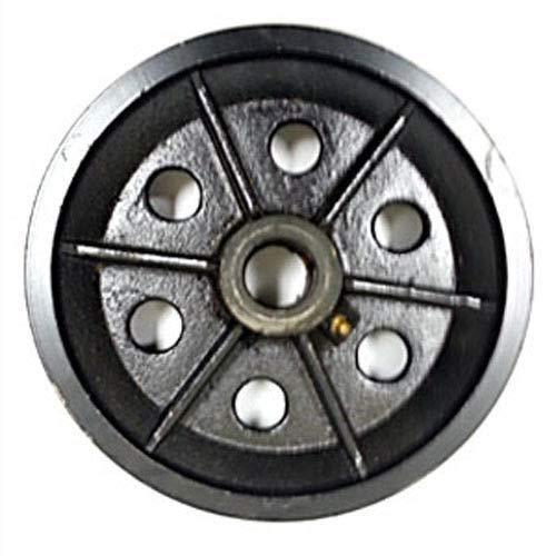 Hy-weld V-Groove Wheel 4' 5' 6' 8' x 2' with Bearing - 1 EA (8' x 2')