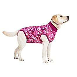 Suitical Recovery Suit Dog, Pink Camouflage