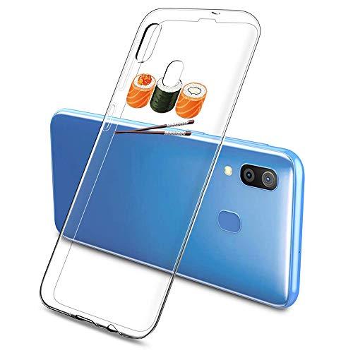 Oihxse Funda Samsung Galaxy J7 MAX, Ultra Delgado Transparente TPU Silicona Case Suave Claro Elegante Creativa Patrón Bumper Carcasa Anti-Arañazos Anti-Choque Protección Caso Cover (A13)