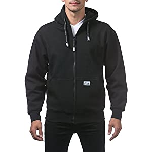 Men's Heavyweight Full Zip Fleece Hoodie