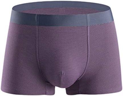 JIUMENG Men's Boxer Briefs Underwear Men's Breathable Comfortable Modal Fabric Underwear
