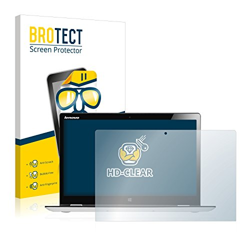BROTECT Protector Pantalla Compatible con Lenovo Yoga 700 14.0 Protector Transparente Anti-Huellas