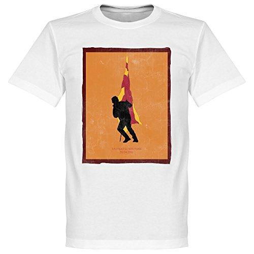 Ulubatli Souness Galatasaray Fahne T-Shirt - weiß - L