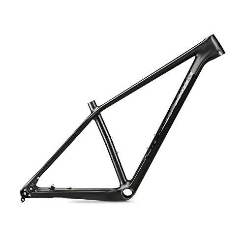 AJIC Cuadro de Bicicleta de Carbono MTB 27.5er / 29er 135xQR o 142x12 Marco de Bicicleta de montaña de Carbono con Disco de Eje pasante Marco de Bicicleta BB92 (Color : 29er, Size : 17inch)