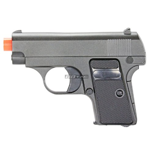 bbtac g1 airsoft full metal slide and body ultra subcompact 6-inch pocket pistol 215 fps gun(Airsoft Gun)