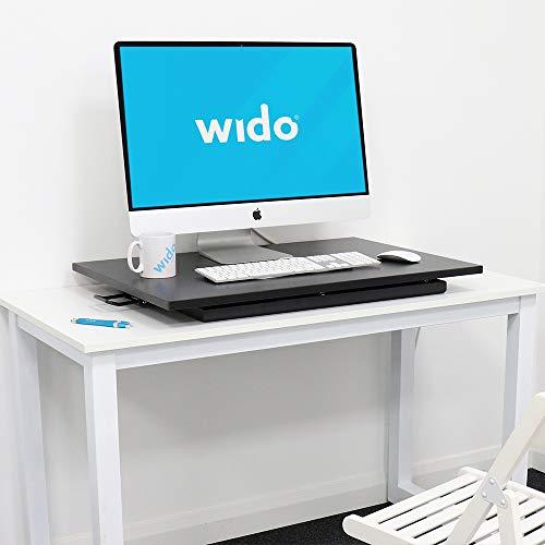 Wido - Conversor de Escritorio Ajustable para Ordenador, Mesa de ...
