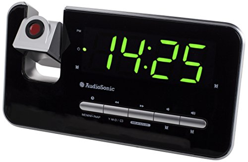 Audiosonic CL-1492 – Reloj despertador...