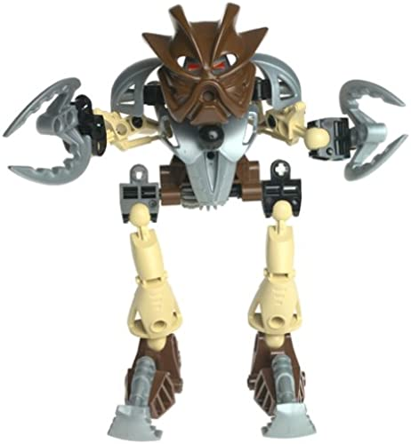 LEGO Bionicle Toa SUPER NUVA Figure  8568 Pohatu marron by Lego