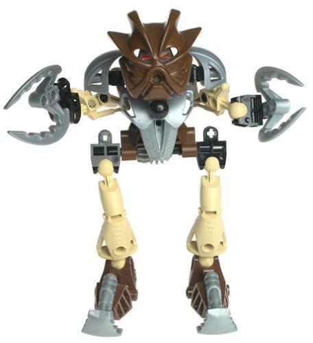 LEGO Bionicle TOA Super NUVA Figure #8568 Pohatu Brown