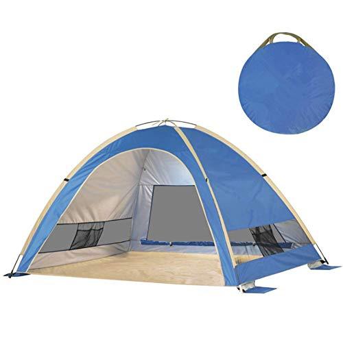 Andesgenme Dome Tent Camping Cabin 2-3 Persoon Lichtgewicht Waterdicht met Draagtas voor Backpacking Picknick Wandelen Vissen Outdoor Gebruik 210x160x130cm