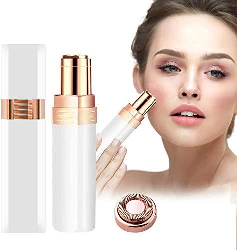 Junio1 Instrumento de herramienta de eliminación de vello facial multifuncional eléctrico para mujer Limpieza