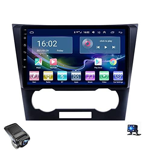 Android 10 Car Radio,Para Chevrolet Chevy Epica 2007-2012 Soporte Reproductor De Video Multimedia Estéreo Bluetooth USB WIFI Navegación GPS Autoradio/Control Del Volante/Dash Cam(Color:WIFI 4G+64G)