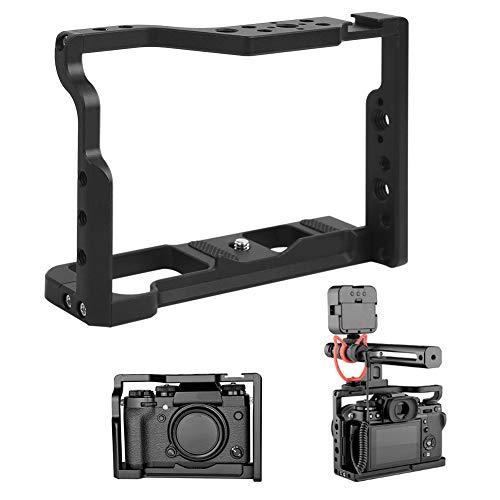 Mavis Laven Jaula de la cámara Portátil Todo el Metal Video Shooting Extension Jaula de la cámara para XT2 / XT3 Cámaras Digitales Jaula