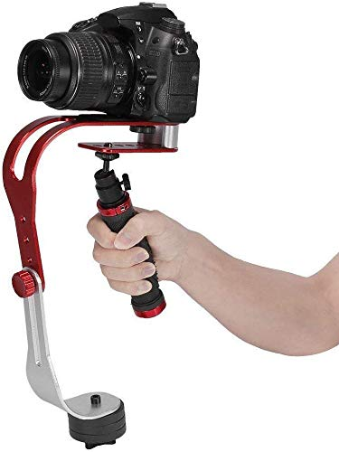 MEETOZ Pro palmare Steadycam video stabilizzatore impugnatura stabile supporto per fotocamera Canon Nikon Sony Cam videocamera DV DSLR