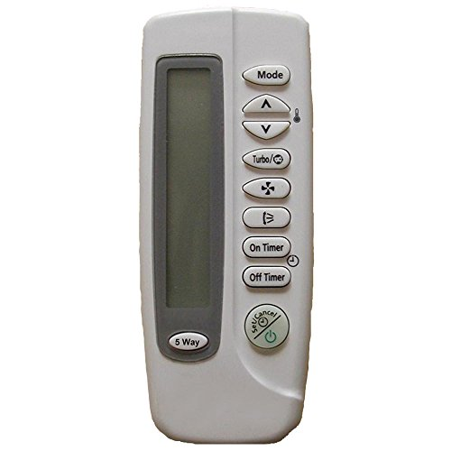 Repuesto para mando a distancia Samsung ARC-406 DB93-00251K funciona para SC09ZA3 SC09ZA3A SC09ZA7 SC09ZA8 SC09ZA8/XSA SC12ACB SC12ZA1B SC12ZA6 SC12ZA6/XSA SC12ZAB SC12ZABX SC18AC0