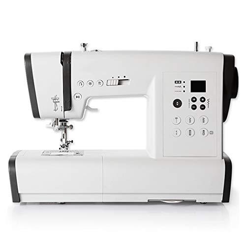 ZHongWei-- Máquina de Coser, Máquina de Coser electrónicos de Uso doméstico, de Escritorio Multifuncional máquina de Coser con 80 Puntadas (Size : 40.5x20x27cm)