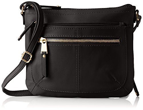 Tignanello Pretty Pockets Small Crossbody, Black, One Size