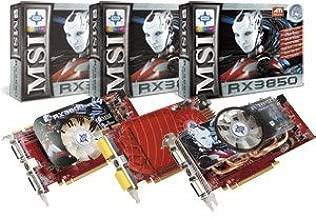 RX3850 T2D512E OC - MSI RX3850 T2D512E OC Details zu MSI RX3850-T2D512E OC GDDR3 ATI RADEON HD 3850 512 MB DUAL