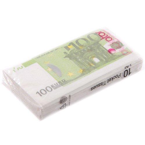 Paquet de mouchoirs (100 euros)