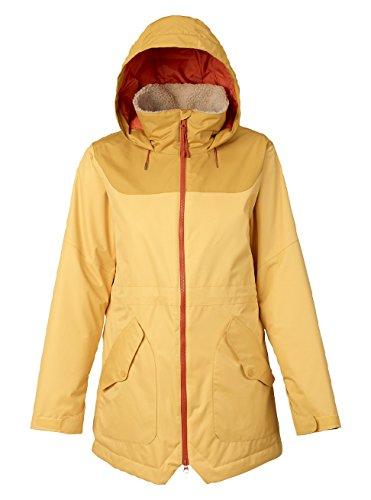 Burton Damen Prowess Jacket Snowboardjacke, Ochre/Harvest Gold, L