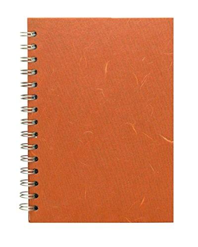Pink Pig Skizzenbuch - Weißes Papier Mulberry Abdeckung A5