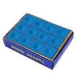 Wolike Craie Pionnier Snooker & Pool, Bleu, Boîte de 12