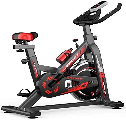 Home Hometrainer Cardio Workout Display Verstelbaar stuur Zithoogte Fitnessfiets Ideaal Cardio Trainer dsfhsfd(Upgrade)