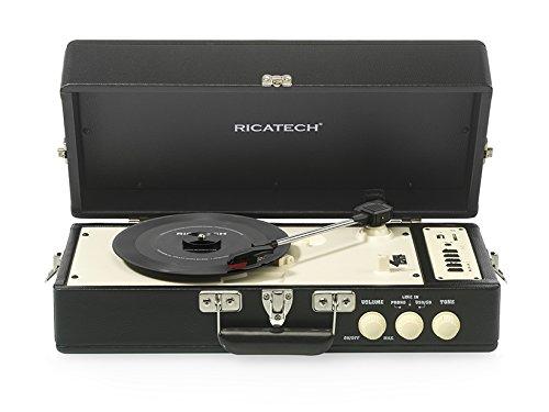 Ricatech 659020rtt98Vintage Tocadiscos negro
