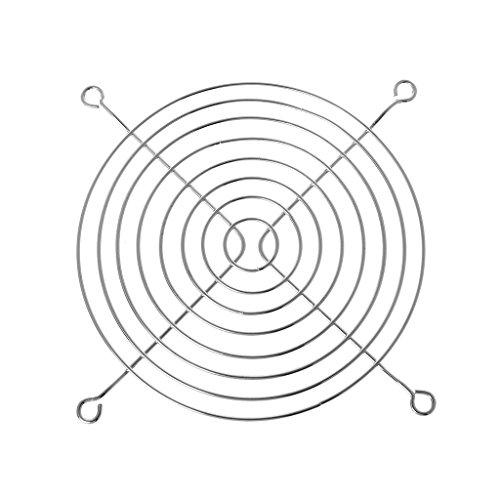 laimoere Rejilla de protección contra Ventiladores, Rejilla de Seguridad de Malla de Hierro Dia de 12 cm, Utilizada para los fanáticos del gabinete de la computadora