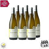 Petit Chablis Blanc 2018 - Domaine Jolly - Vin AOC Blanc de Bourgogne - Cépage Chardonnay - Lot de 6x75cl - Médaille d'Or Concours Agricole de Paris